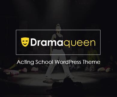 Dramaqueen - Acting School WordPress Theme