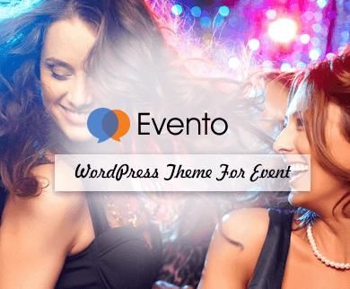 Evento - Event WordPress Theme