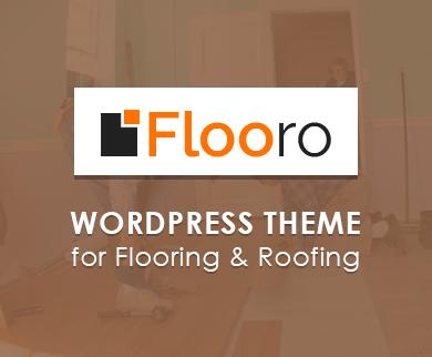 Flooro - Flooring WordPress Theme