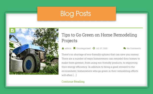 start a gardening blog