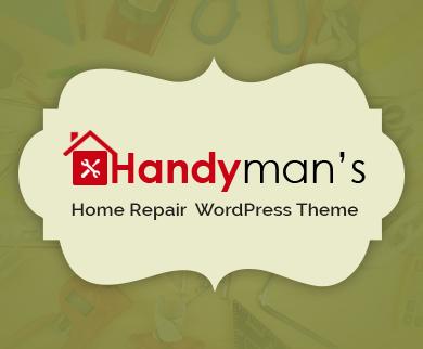 Handyman - Home Repair Business WordPress Theme