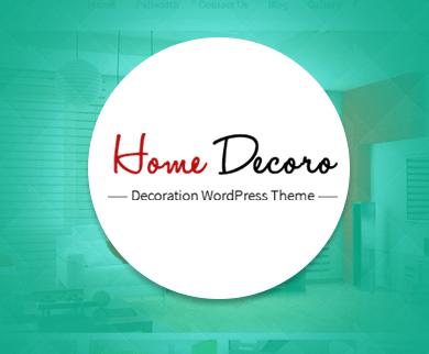 Home Decoro - Decoration WordPress Theme