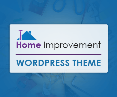 Home Improvement Plan WordPress Theme