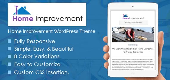 Home Improvement WordPress Theme