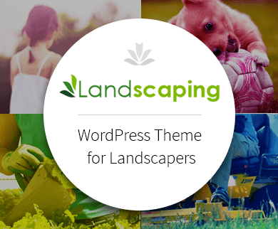 Landscaping - WordPress Theme For Landscapers