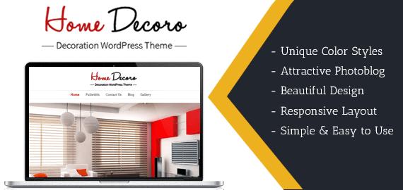 Decor Themes Wordpress Decoration Wordpress Theme