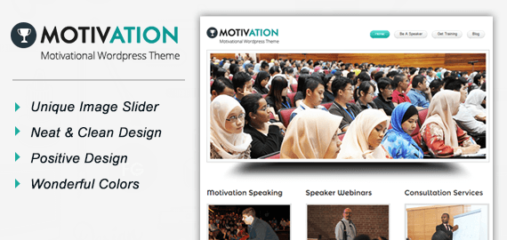 motivation motivational speaker wordpress theme inkthemes