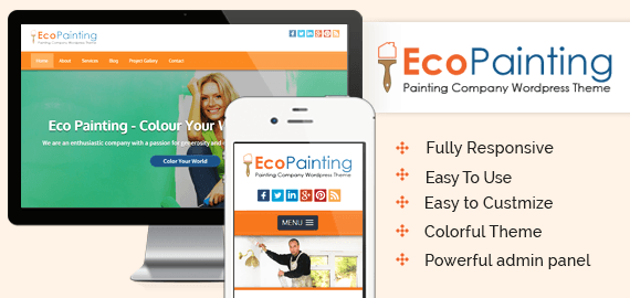 ECOPAINTING - PAINTING COMPANY WORDPRESS THEME