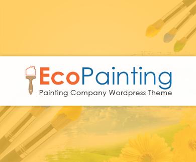 EcoPainting - Painting Company WordPress Theme
