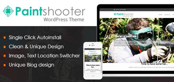 Paintball Club WordPress Theme [Free Install]