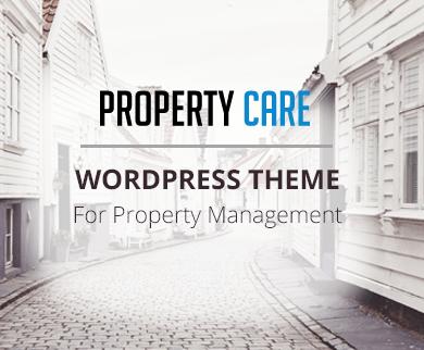 PropertyCare - Property Maintenance WordPress Theme