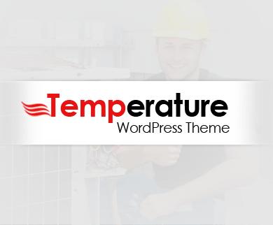 Temperature -  Air Conditioner WordPress Theme