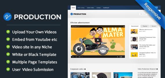 Video Animation Production WordPress Theme