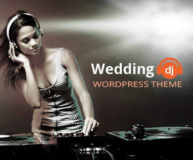Wedding DJ - Wedding & Disc Jockey WordPress Theme