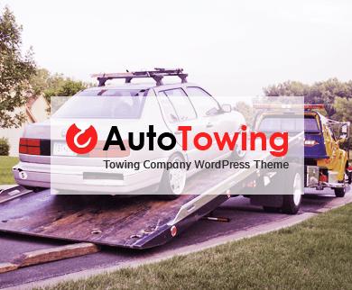 Auto Towing - Towning Company WordPress Theme