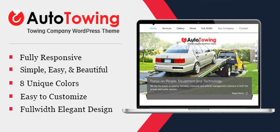 AUTO TOWING WORDPRESS THEME