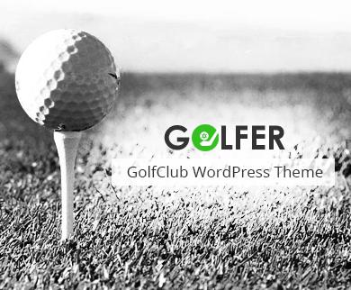 Golf Website Templates For WordPress | InkThemes