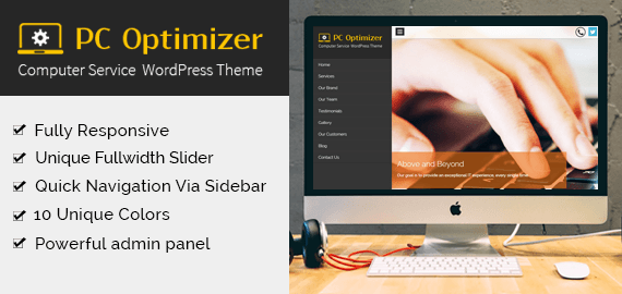PC OPTIMIZER - COMPUTER REPAIRING WORDPRESS THEME