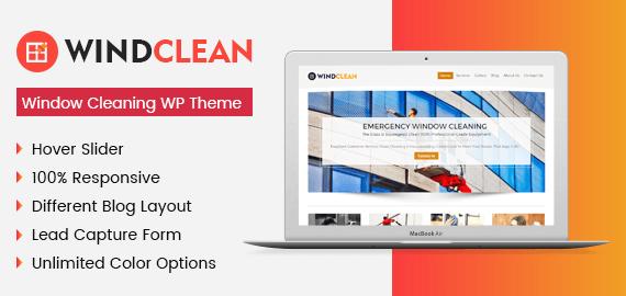 WindClean WordPress Theme