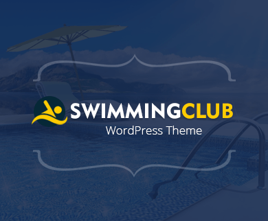 Water park website templates for wordpress inkthemes swimming club wordpress theme maxwellsz