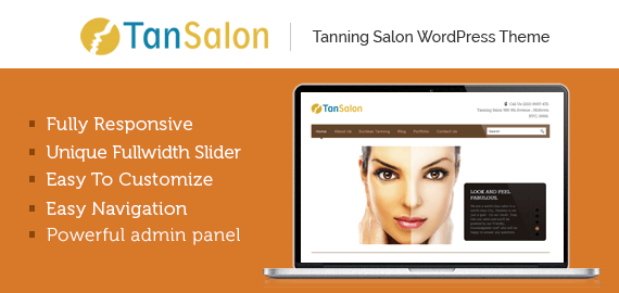 TAN SALON - TANNING SALON WORDPRESS THEME