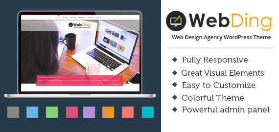 WEB DING - WEB DESIGN AGENCY WORDPRESS THEME