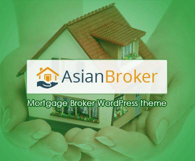 Asian Broker - The Mortgage Broker WordPress Theme