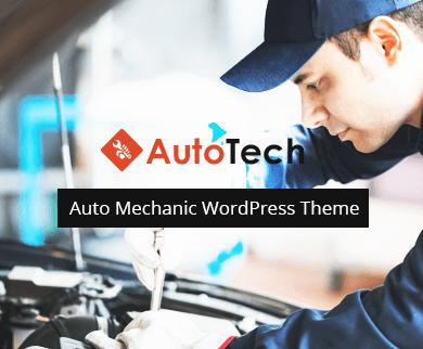 Auto Tech - The Auto Mechanic WordPress Theme