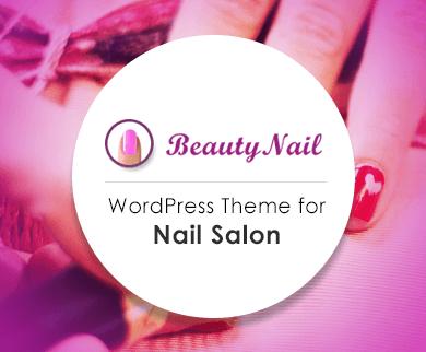 Beauty Nail - The Nail Salon WordPress Theme