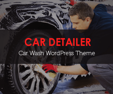 CarDetailer - Car Washing WordPress Theme