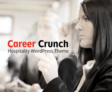 Career Crunch - Hospitality WordPress Theme