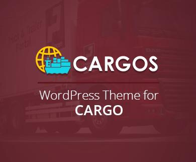 Cargos - The Cargo Company WordPress Theme