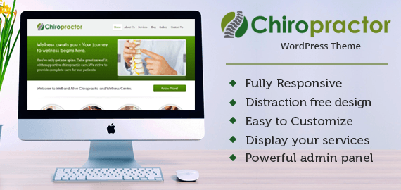 CHIROPRACTOR - CHIROPRACTOR & HEALTH CARE PROVIDERS WORDPRESS THEME