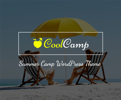 CoolCamp - Summer Camp WordPress Theme