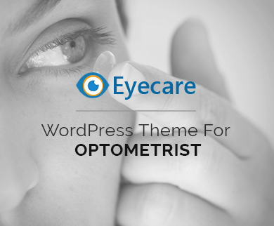 EyeCare - Optometrists WordPress Theme