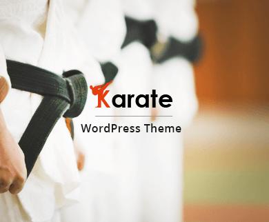 Karate - Kickboxing & Karate WordPress Theme
