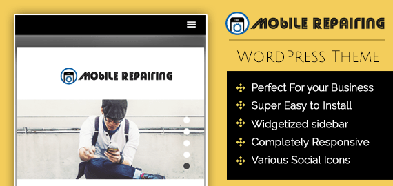 MOBILE REPAIRING AND FIXING WORDPRESS THEME