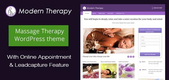 Modern Therapy WordPress Theme
