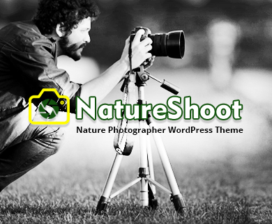 NatureShoot - Nature Photographer WordPress Theme