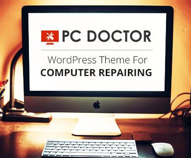 PC Doctor - Computer Repairing WordPress Theme
