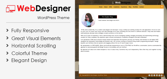 WebDesigner WordPress Theme