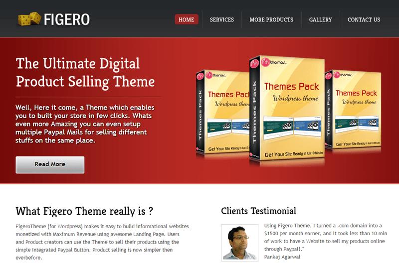 Figero WordPress Theme