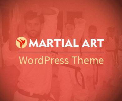 Martial Art And Judo WordPress Theme