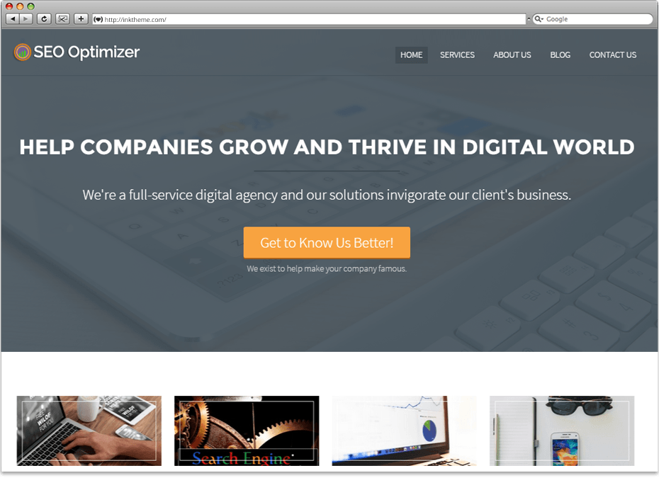 seo optimizer wp theme