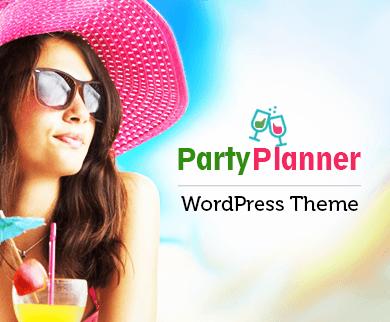 PartyPlanner - Party Event Planner WordPress Theme