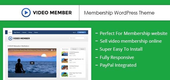 Video Membership WordPress Solution