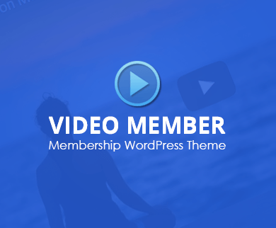 Video Member - Membership WordPress Theme