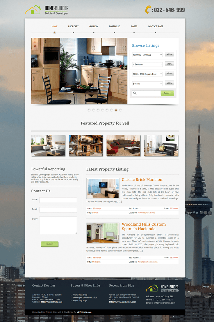 How to create Real Estate Website
