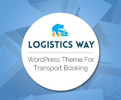 Logistics Way - WordPress Theme For Logistics & Transportation Booking