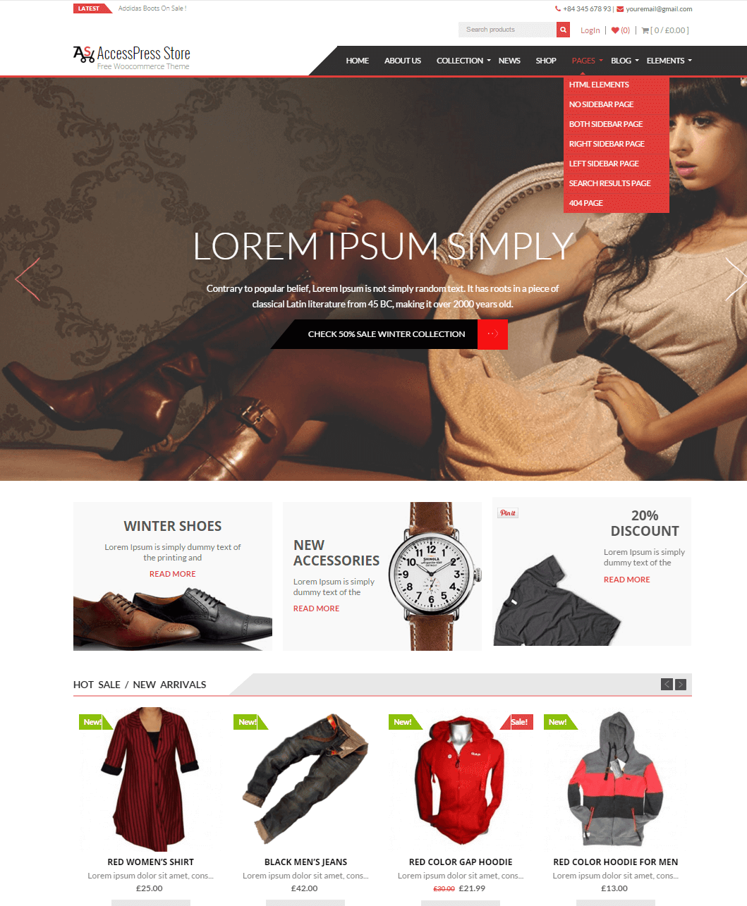 AccessPress Store- Free Woocommerce WP Theme